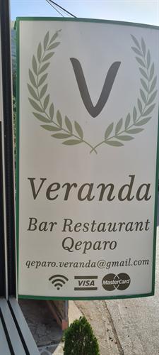 Bar Restaurant Veranda Qeparo