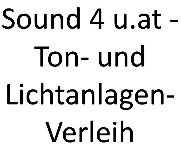 Sound4u.at - Ton- und Lichtanlagen-Verleih