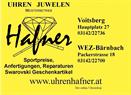 Uhren Juwelen Hafner