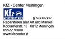 KfZ- Center Meiningen