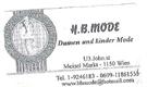 HB - Mode