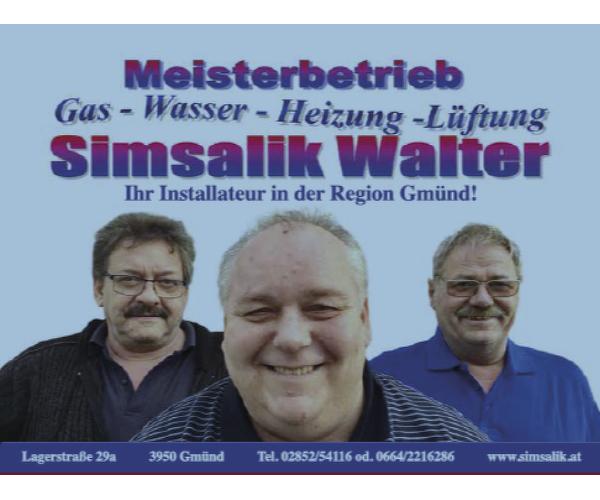 Simsalik Walter: Gas-Wasser-Heizung