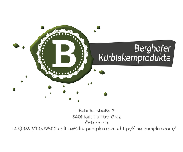 Josef Berghofer - Kürbiskernprodukte