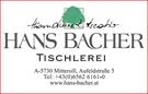 Hans Bacher Tischlerei GmbH & Co KG
