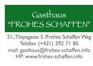 Frohes Schaffen Gastronomiebetriebs GmbH