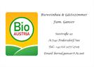 Bioweinbau und Gästezimmer Ganser
