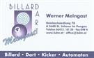 Billard Dart Kicker Automaten