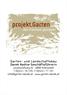 Projekt Garten Ldt.