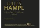 Julius Hampl seit 1884