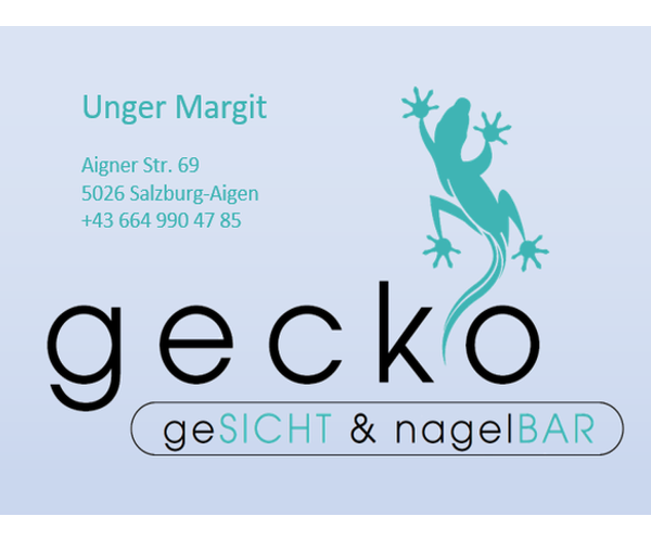 Gecko geSICHT & nagelBAR