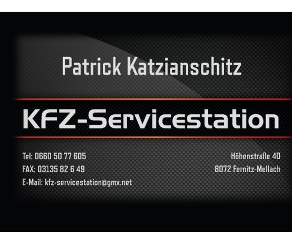 Patrick Katzianschitz KFZ Service Station
