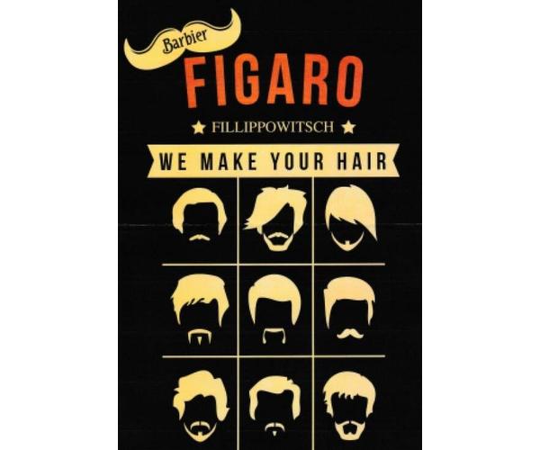 Friseur, Figaro, Barbier Fillippowitsch