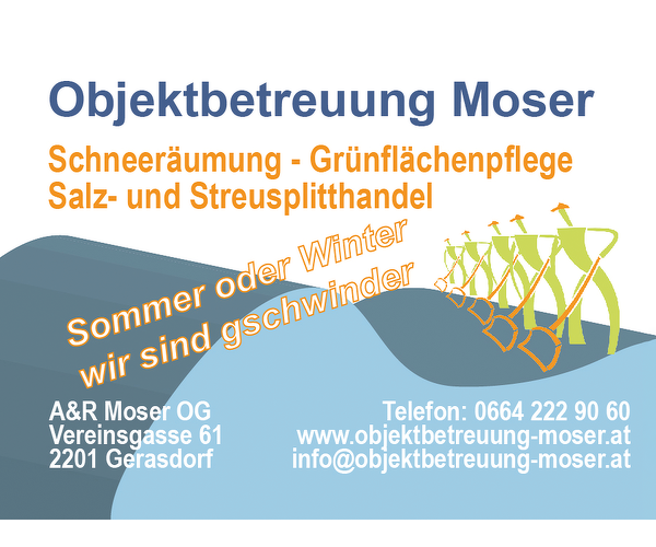 Objektbetreuung Moser