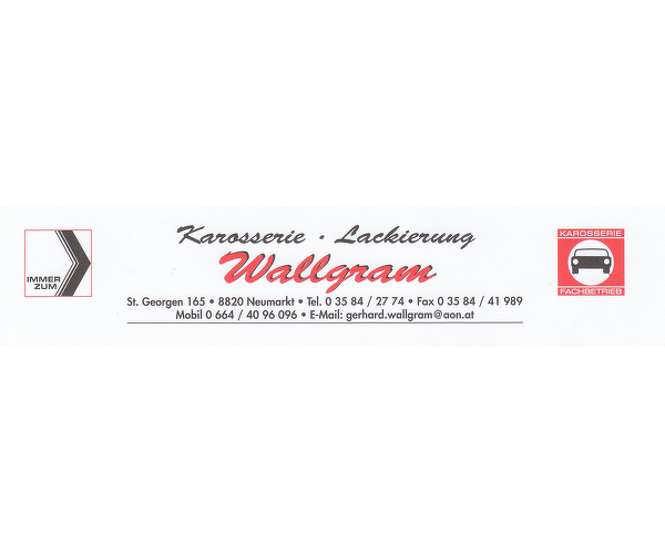 Karosserie Lackierung Wallgram