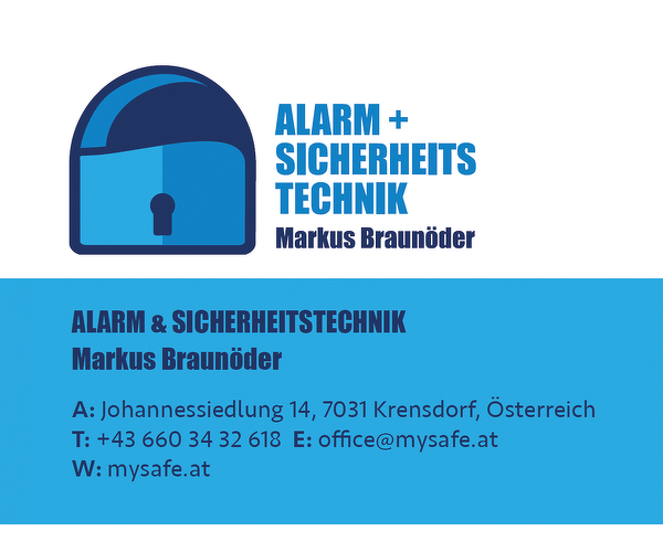 Markus Braunöder Alarmanlagen