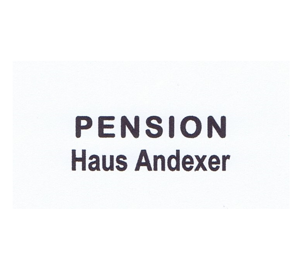 Haus Pension Andexer