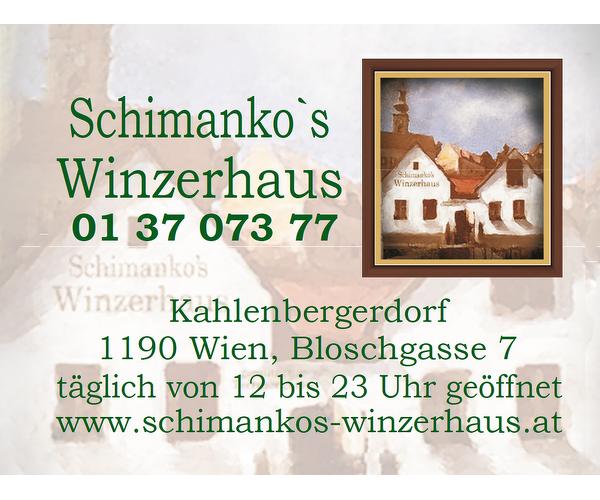 Schimanko´s Winzerhaus