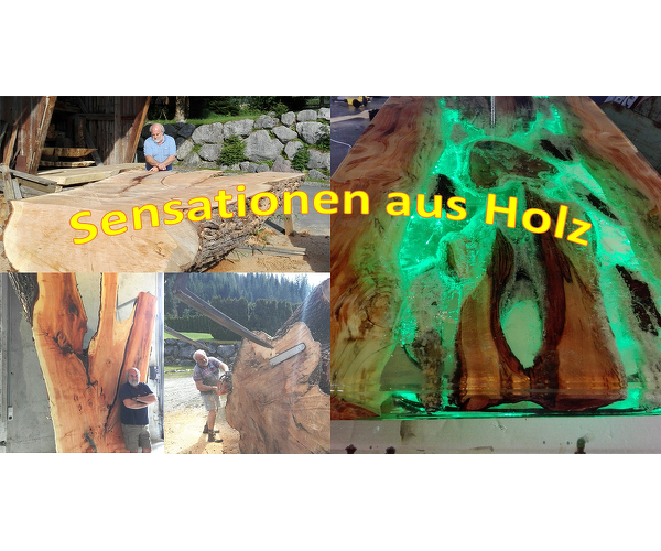 Sensationen aus Holz/Alleinunterhalter