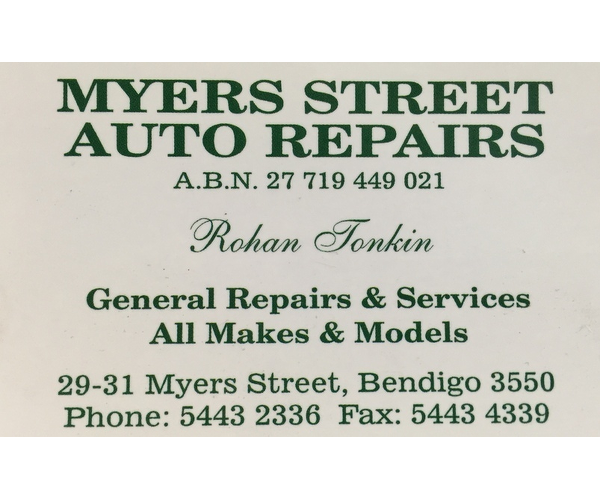 Myers Street Auto's
