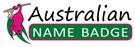 Australian Name Badge