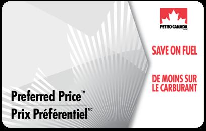Petro-Canada™ Preferred Price Card