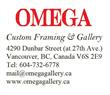 Omega Custom Framing & Gallery