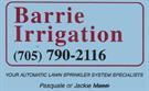 Barrie Irrigation