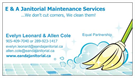 E & A Janitorial/Maintenance Services