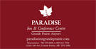 Paradise Inn & Conference Centre