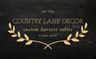 Country Lane Decor