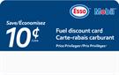 Price Privileges Fuel Discount Card 10c/L