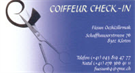 Coiffeur Check-In