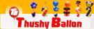 Thusy Ballon, Dekoration und Freizeit