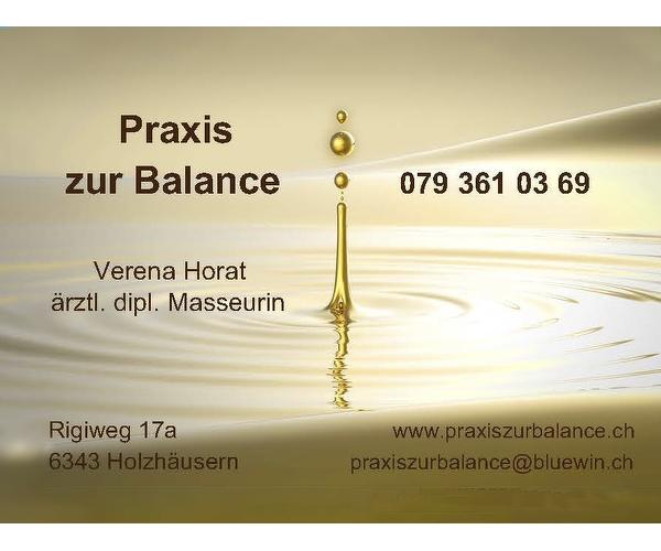 Praxis zur Balance - Verena Horat