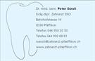 Zahnarztpraxis Dr.med.dent. Peter Süssli