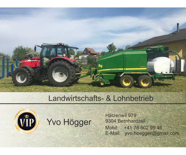 Yvo Högger Landwirtschaftsbetrieb
