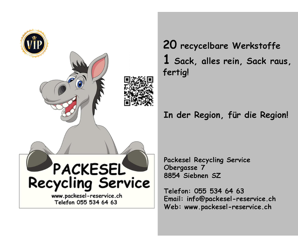 PACKESEL RECYCLING SERVICE