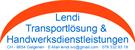 Lendi Transportlösungen / Handwerksdienstleistungen