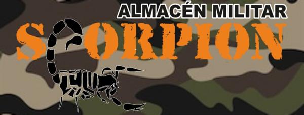 SCORPION ALMACÉN MILITAR