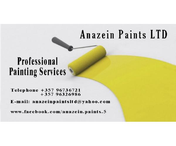 Anazein Paints LTD