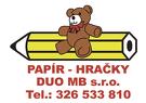 PAPÍR-HRAČKY DUO MB, s.r.o.