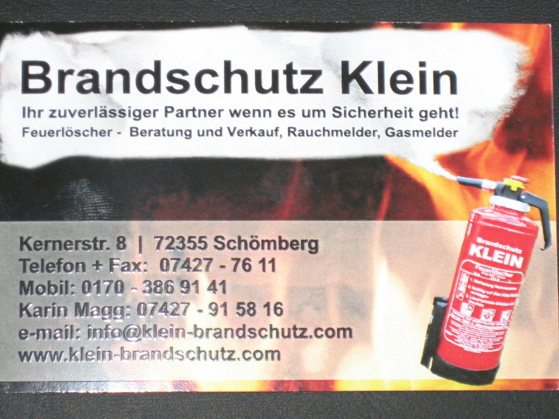 Brandschutz Klein