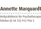 Annette Marquardt Heilpraktikerin für Psychotherapie