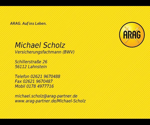 Michael Scholz Versichungsfachmann BWV