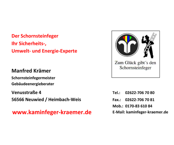 Schornsteinfegerbetrieb Krämer
