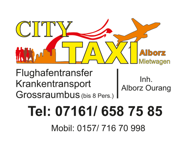 Taxi Mietwagen und Transporte - City Taxi