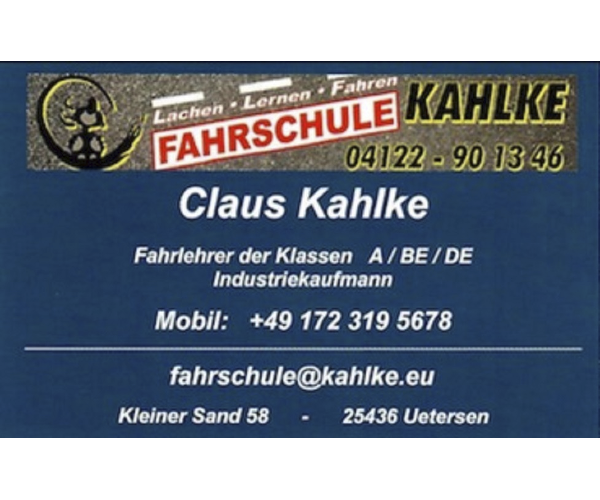 Fahrschule Claus Kahlke