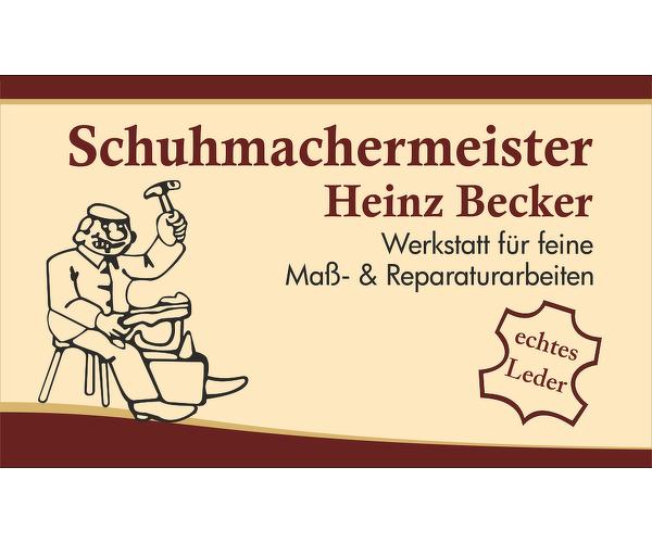 Schuhmachermeister Heinz Becker