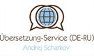 Übersetzung-Service (DE-RU) Andrej Scharkov