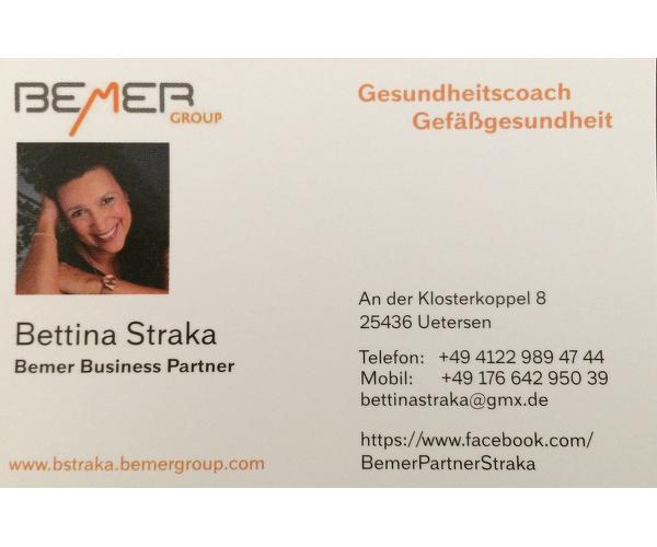 BEMER Partner Bettina Straka